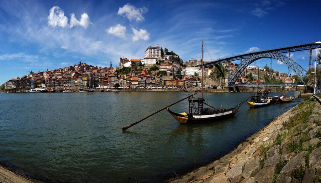 Porto - View from Ribeira